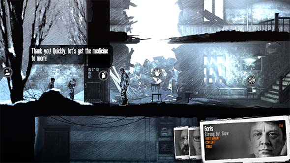 This War of Mine - medicine for mom