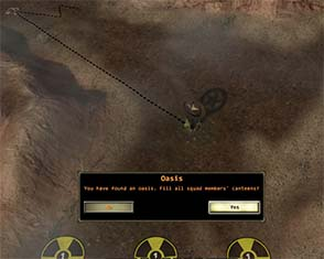 Wasteland 2 - water as a resource