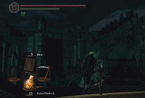 Dark Souls - dark Anor Londo cathedral