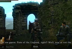 Dark Souls - you're not the first