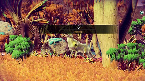 No Man's Sky - cataloging alien life