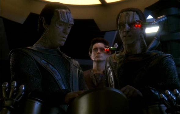 Star Trek: Deep Space Nine - Dukat, Damar, and Weyoun