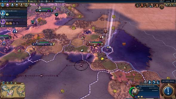 Civilization VI - can't use allies' canal cities