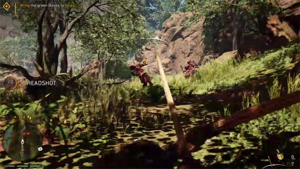 Far Cry: Primal - bow and arrow