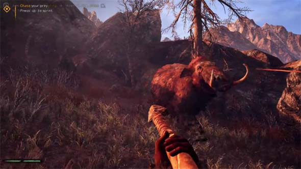 Far Cry: Primal - tutorial death