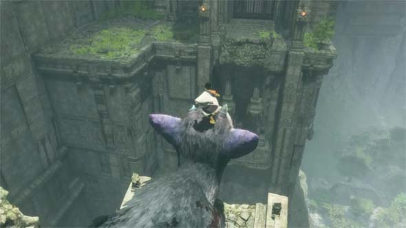 The Last Guardian - commanding Trico