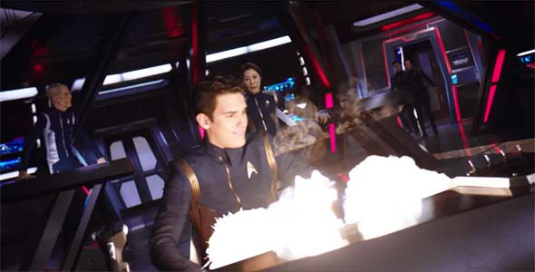 Star Trek: Discovery - bridge explosion