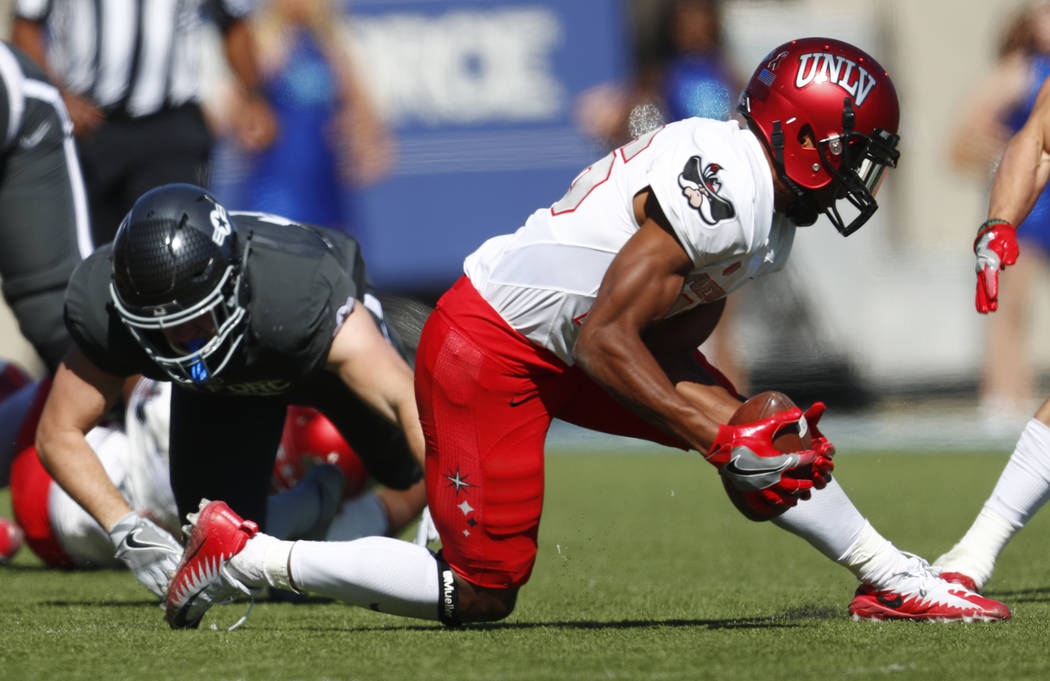 UNLV vs Air Force - fumbles