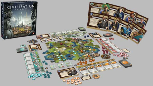 Civilization: A New Dawn board game