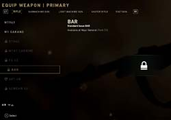Call of Duty WWII - BAR unlock