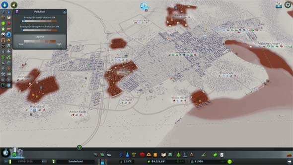 Cities: Skylines: Green Cities - pollution
