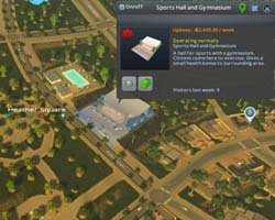 Cities: Skylines: Green Cities - pool and gym