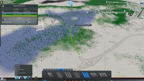 Cities: Skylines: Green Cities - building with overlays