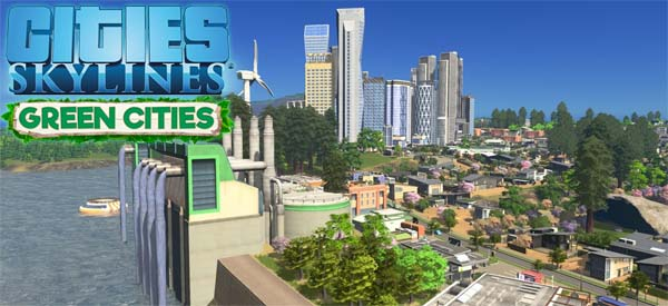 Cities: Skylines: Green Cities - title