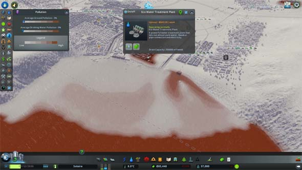 Cities: Skylines: Green Cities - sewage