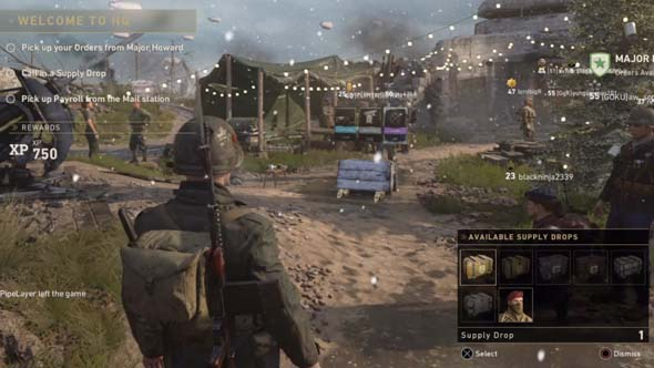 Call of Duty WWII - loot box