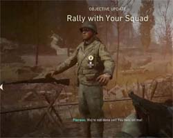 Call of Duty WWII - T pose