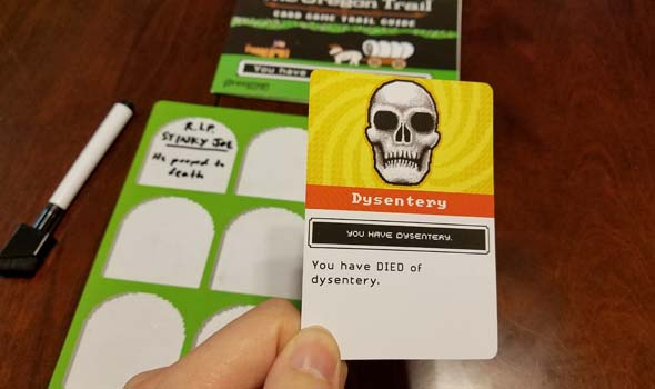 Oregon Trail - dysentery