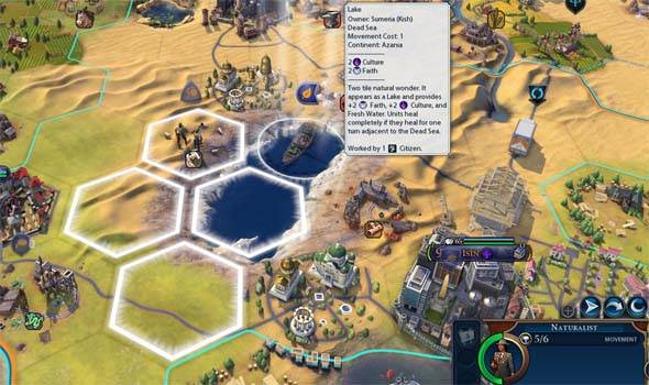 Civilization VI - Dead Sea National Park