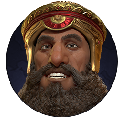 Civilization VI - Gilgamesh portrait