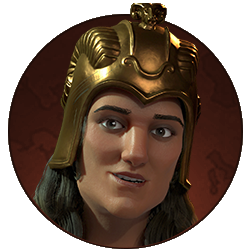 Civilization VI - Tomyris portrait