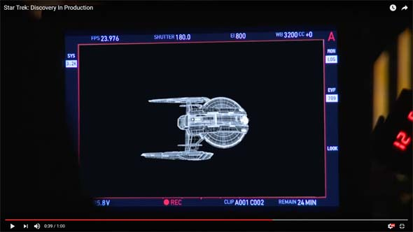 Star Trek Discovery teases ship redesign, uniform anachronism | Mega ...