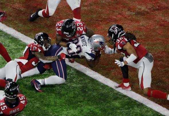 Super Bowl LI - overtime touchdown