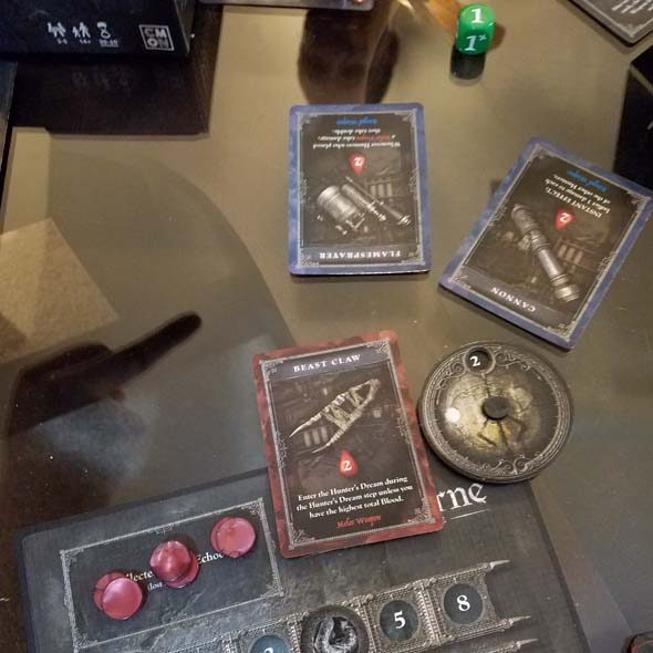 Bloodborne the Card Game - killing another player