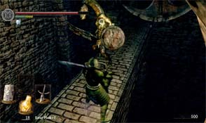 Dark Souls - Sen's Fortress serpent men