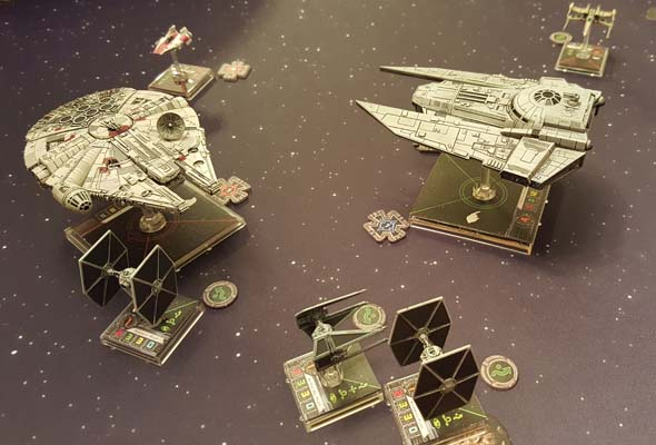 Star Wars: X-Wing - multi-ship collisions