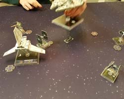 Star Wars: X-Wing - Lambda Shuttle support abilities
