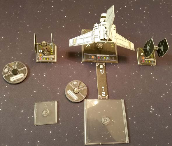 Star Wars: X-Wing - large ship movement