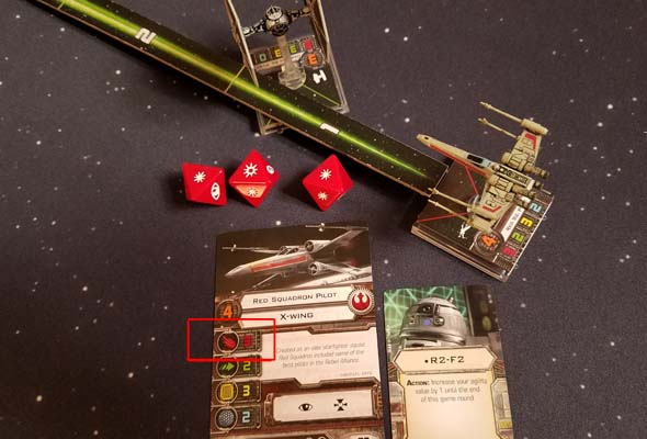 Star Wars X-Wing - not enough dice