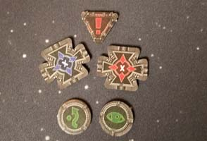 Star Wars X-Wing - action tokens