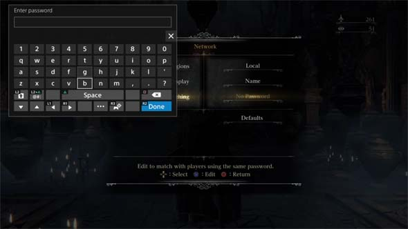 from Casey bloodborne matchmaking password