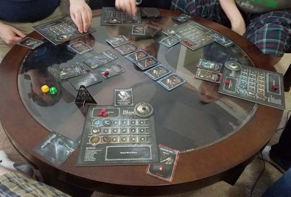Bloodborne the Card Game - 5-player game