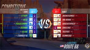 Overwatch - matchmaking