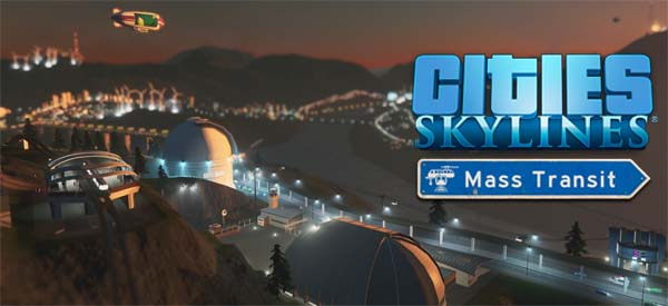 Cities: Skylines: Mass Transit - title