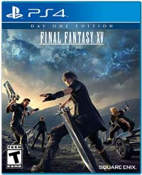 Final Fantasy XV - cover