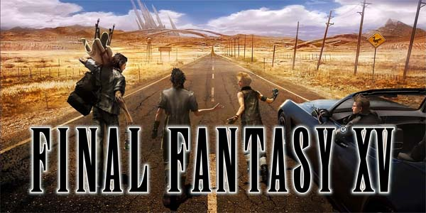 Final Fantasy XV - title