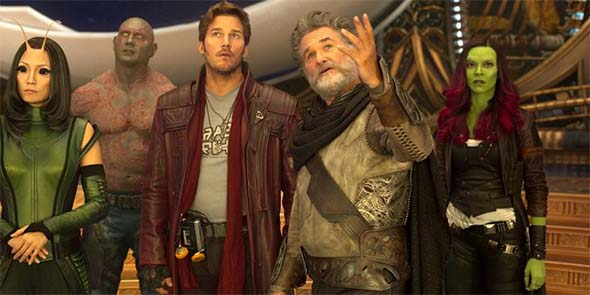 Guardians of the Galaxy, Vol. 2 - Starlord and dad