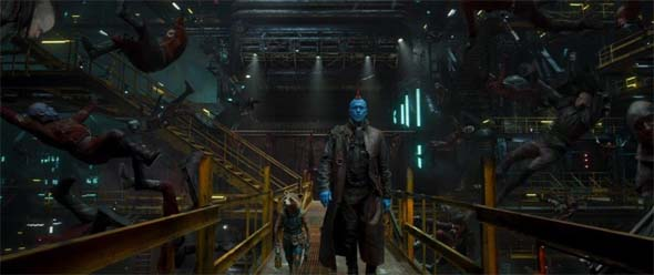 Guardians of the Galaxy, Vol. 2 - Yondu and Rocket murder Reavers