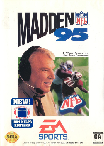 Madden 95 - cover