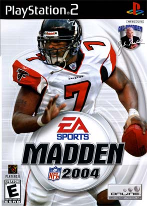Madden 04 - cover
