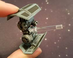 Star Wars X-Wing - TIE Bomber peg