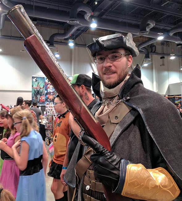Blunderbuss at the con