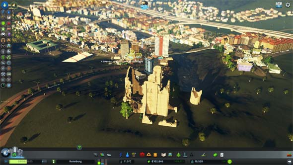 Cities: Skylines - castle ruins