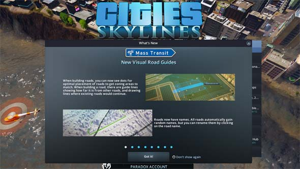 Cities: Skylines - new features