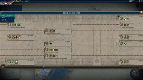 Civilization VI - Ship Building to Cartography