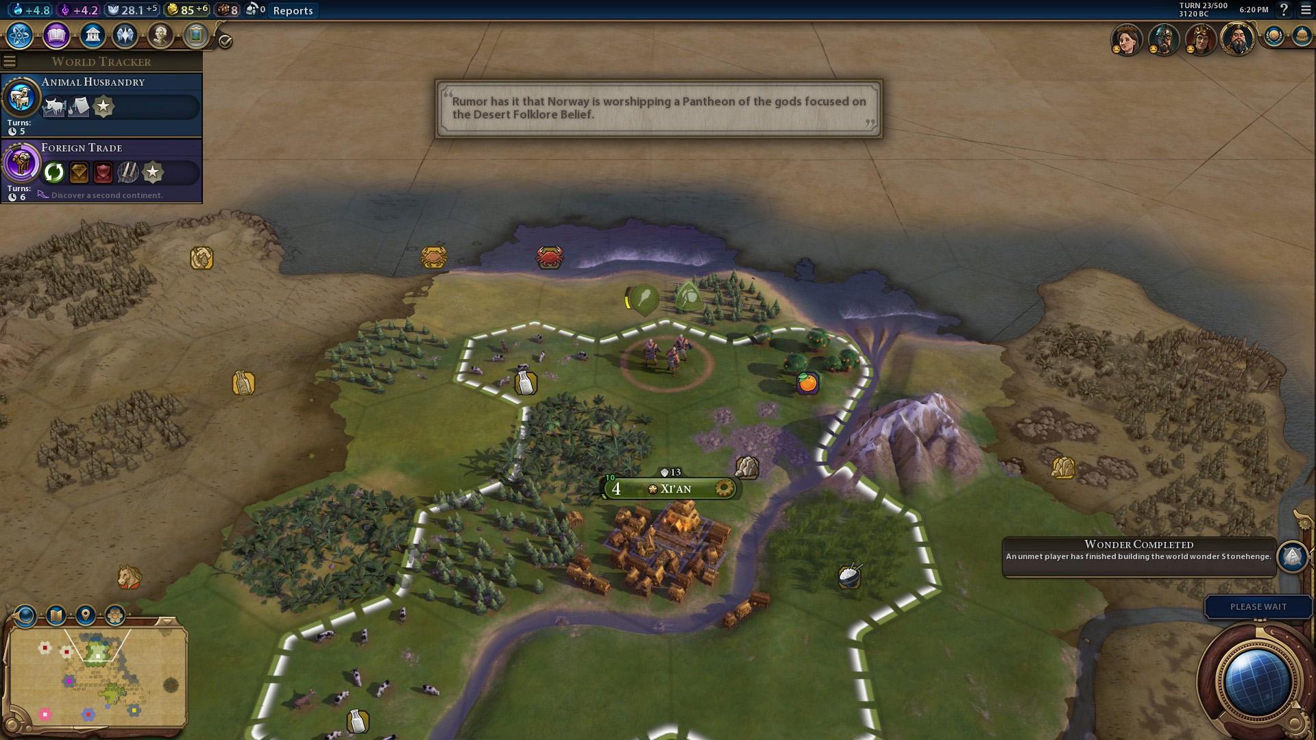 Civ  Build Stonehenge